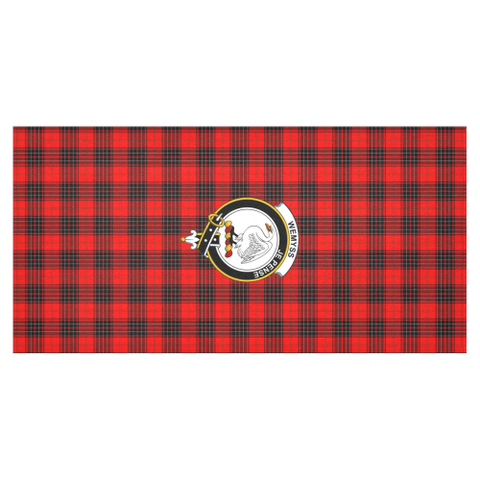 Wemyss Crest Tartan Tablecloth | Home Decor
