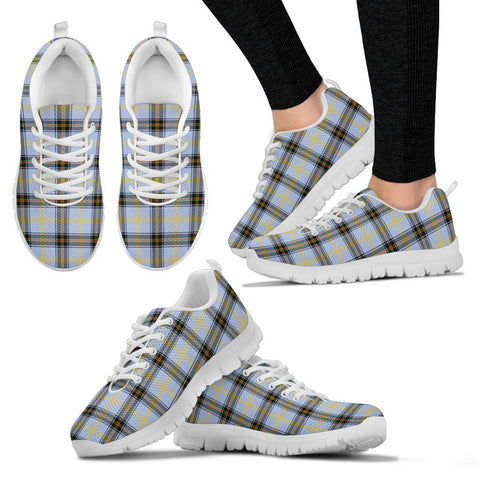 Image of Bell of the Borders, Women's Sneakers, Tartan Sneakers, Clan Badge Tartan Sneakers, Shoes, Footwears, Scotland Shoes, Scottish Shoes, Clans Shoes