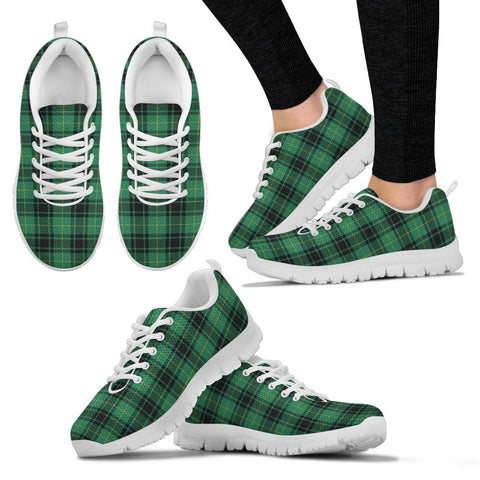 MacArthur Ancient, Women's Sneakers, Tartan Sneakers, Clan Badge Tartan Sneakers, Shoes, Footwears, Scotland Shoes, Scottish Shoes, Clans Shoes