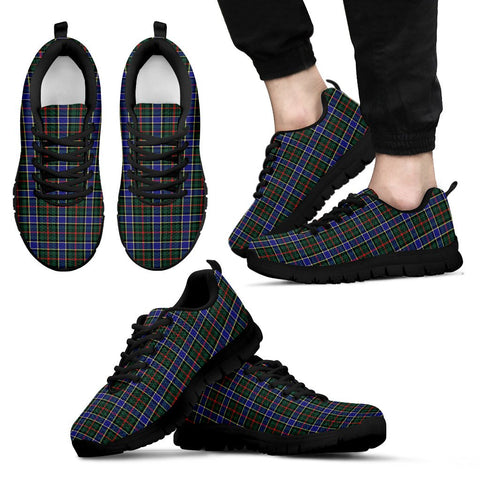 Image of Ogilvie Hunting Modern, Men's Sneakers, Tartan Sneakers, Clan Badge Tartan Sneakers, Shoes, Footwears, Scotland Shoes, Scottish Shoes, Clans Shoes