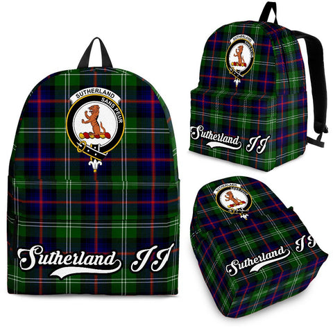 Sutherland II Tartan Clan Backpack | Scottish Bag | Adults Backpacks & Bags