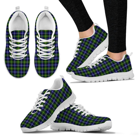 Image of MacNeill of Barra Modern, Women's Sneakers, Tartan Sneakers, Clan Badge Tartan Sneakers, Shoes, Footwears, Scotland Shoes, Scottish Shoes, Clans Shoes