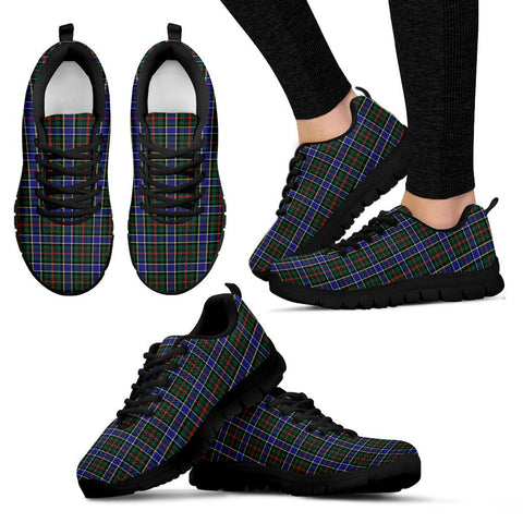 Ogilvie Hunting Modern, Women's Sneakers, Tartan Sneakers, Clan Badge Tartan Sneakers, Shoes, Footwears, Scotland Shoes, Scottish Shoes, Clans Shoes