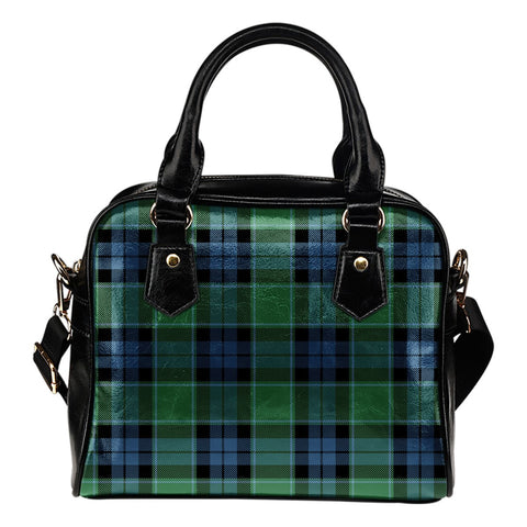 Image of Graham of Menteith Ancient Tartan Shoulder Handbag for Women | Hot Sale | Scottish Clans