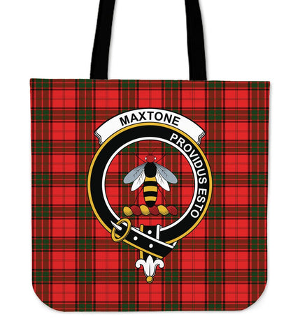 Tartan Tote Bag - Maxtone Clan Badge | Special Custom Design