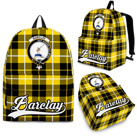 Barclay Tartan Clan Backpack | Scottish Bag | Adults Backpacks & Bags