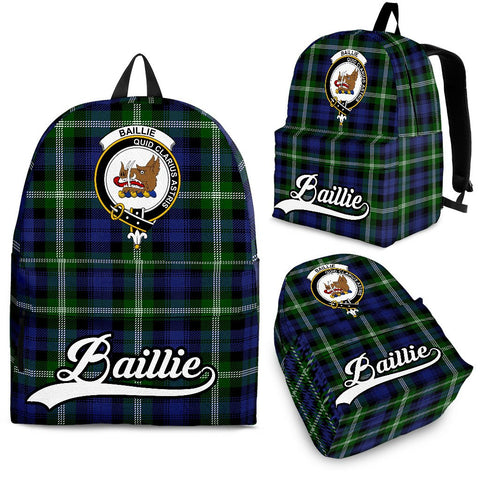 Baillie Tartan Clan Backpack | Scottish Bag | Adults Backpacks & Bags