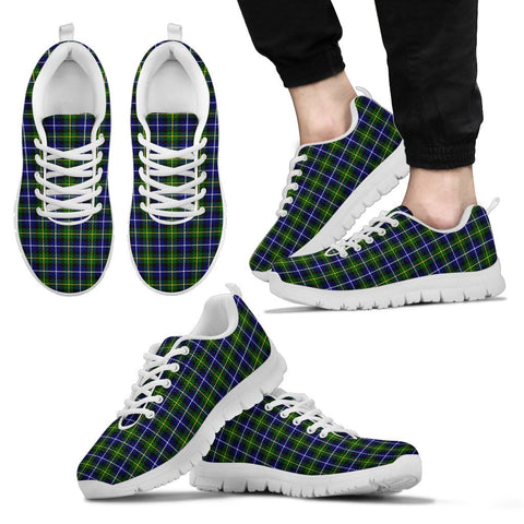 Image of MacNeill of Barra Modern, Men's Sneakers, Tartan Sneakers, Clan Badge Tartan Sneakers, Shoes, Footwears, Scotland Shoes, Scottish Shoes, Clans Shoes