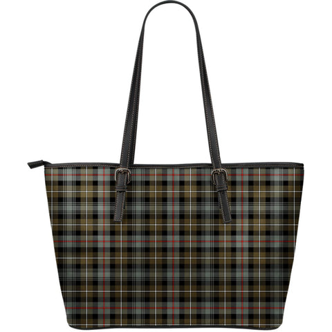 MacKenzie Weathered Tartan Leather Tote Bag (Large) | Over 500 Tartans | Special Custom Design
