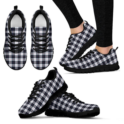 MacRae Dress Modern, Women's Sneakers, Tartan Sneakers, Clan Badge Tartan Sneakers, Shoes, Footwears, Scotland Shoes, Scottish Shoes, Clans Shoes