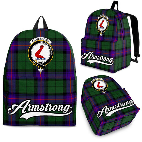 Armstrong Tartan Clan Backpack | Scottish Bag | Adults Backpacks & Bags