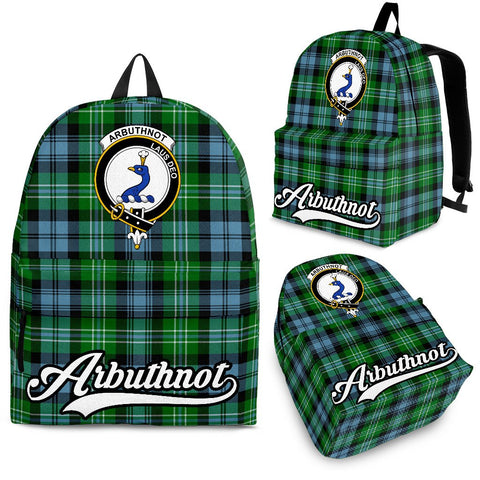 Arbuthnot Tartan Clan Backpack | Scottish Bag | Adults Backpacks & Bags
