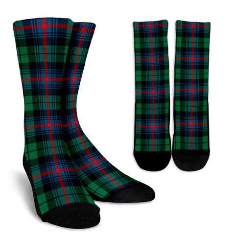Tartan Socks - Urquhart Broad Red Ancient Socks