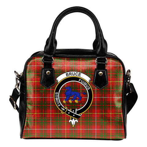 Bruce Modern Tartan Clan Shoulder Handbag | Special Custom Design