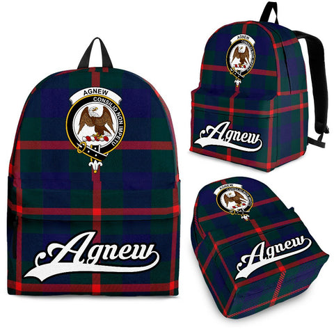 Agnew Tartan Clan Backpack | Scottish Bag | Adults Backpacks & Bags