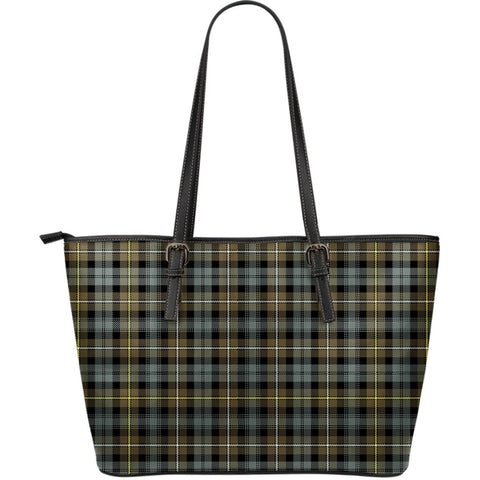 Campbell Argyll Weathered Tartan Leather Tote Bag (Large) | Over 500 Tartans | Special Custom Design