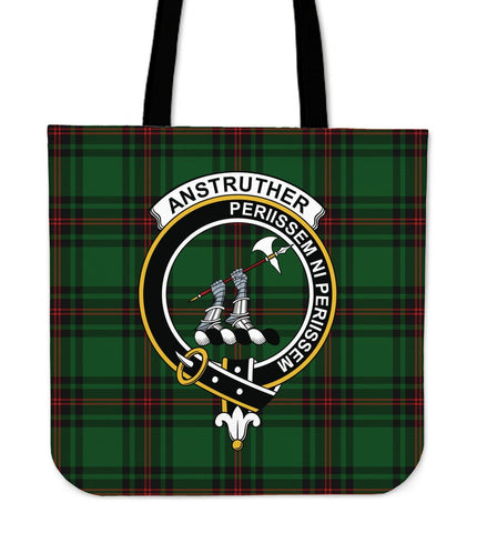 Tartan Tote Bag - Anstruther Clan Badge | Special Custom Design