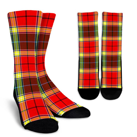 Tartan Socks - Gibbs Socks - Clan Gibbs Plaid