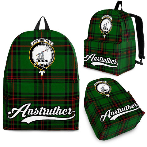 Anstruther Tartan Clan Backpack | Scottish Bag | Adults Backpacks & Bags