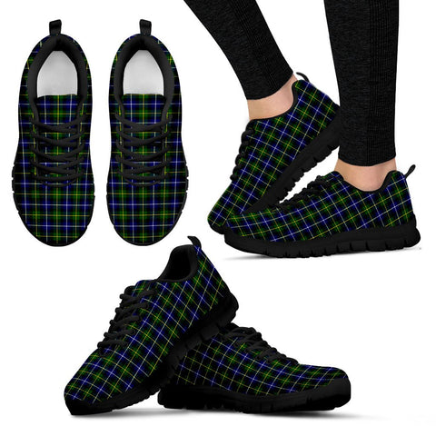 MacNeill of Barra Modern, Women's Sneakers, Tartan Sneakers, Clan Badge Tartan Sneakers, Shoes, Footwears, Scotland Shoes, Scottish Shoes, Clans Shoes