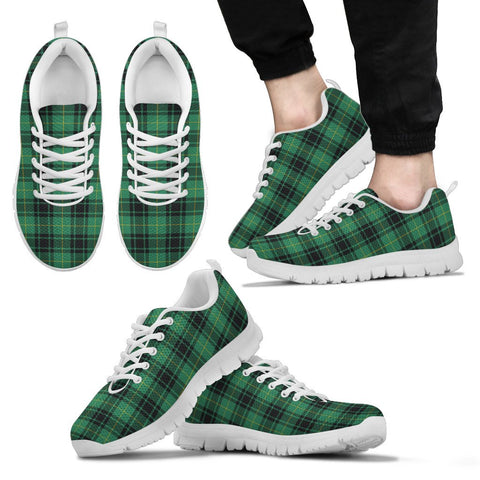 MacArthur Ancient, Men's Sneakers, Tartan Sneakers, Clan Badge Tartan Sneakers, Shoes, Footwears, Scotland Shoes, Scottish Shoes, Clans Shoes