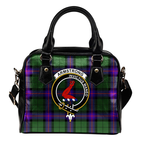 Armstrong Modern Tartan Clan Shoulder Handbag | Special Custom Design