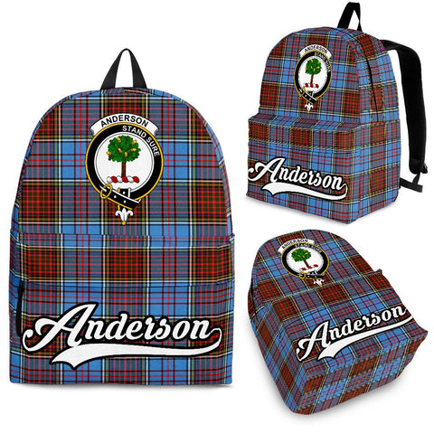 Anderson Tartan Clan Backpack | Scottish Bag | Adults Backpacks & Bags