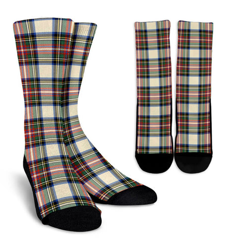 Tartan Socks - Stewart Dress Ancient Socks