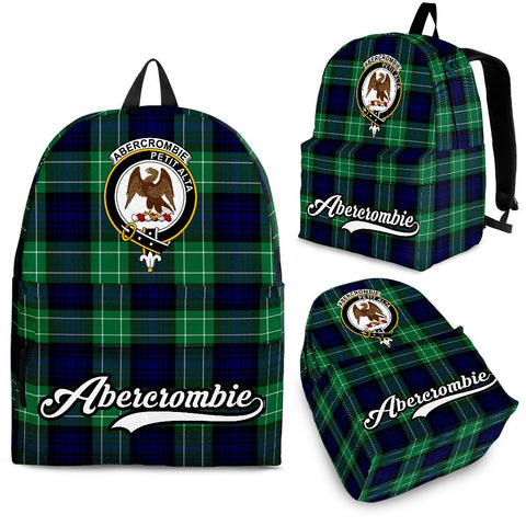 Abercrombie Tartan Clan Backpack | Scottish Bag | Adults Backpacks & Bags