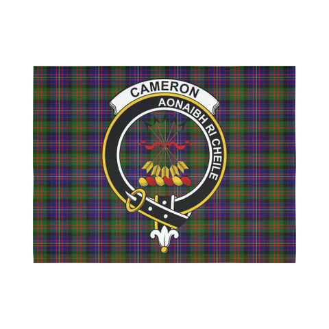 Image of Cameron Tartan Tapestry Clan Crest