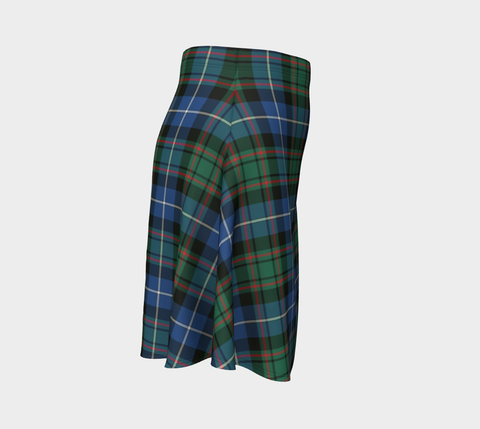 Tartan Flared Skirt - MacRae Hunting Ancient |Over 500 Tartans | Special Custom Design | Love Scotland