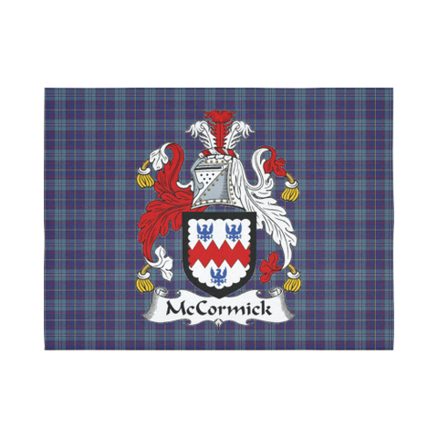 Image of Mccormick Tartan Tapestry Clan Crest
