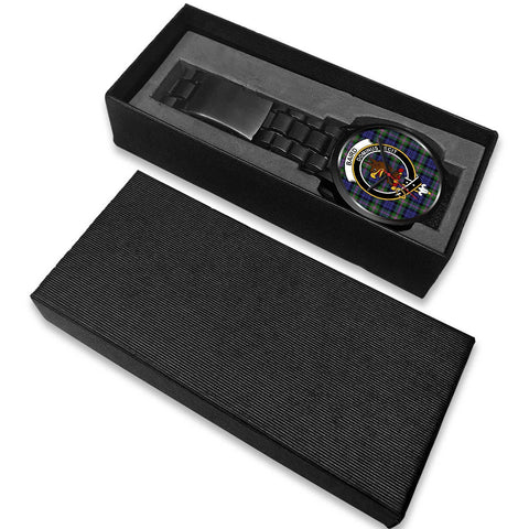 Baird Modern Clans ,White Leather watch, leather steel watch, tartan watch, tartan watches, clan watch, scotland watch, merry christmas, cyber Monday, halloween, black Friday
