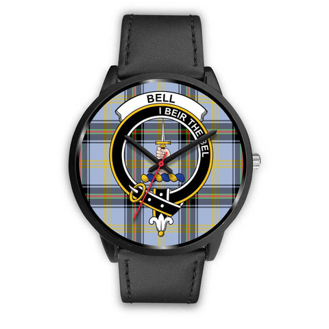 Bell of the Borders Clans ,Black Metal Mesh watch, leather steel watch, tartan watch, tartan watches, clan watch, scotland watch, merry christmas, cyber Monday, halloween, black Friday