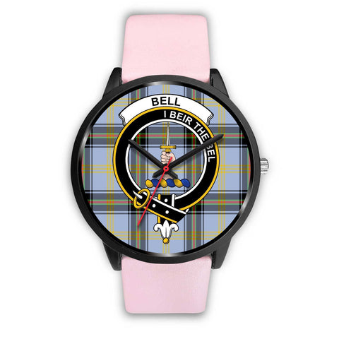Bell of the Borders Clans ,Silver Metal Link watch, leather steel watch, tartan watch, tartan watches, clan watch, scotland watch, merry christmas, cyber Monday, halloween, black Friday