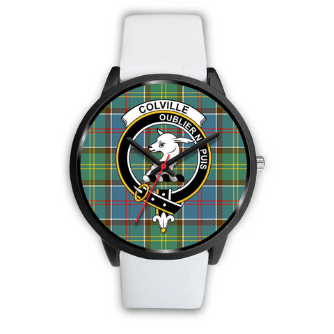 Colville District Clans ,Silver Metal Mesh watch, leather steel watch, tartan watch, tartan watches, clan watch, scotland watch, merry christmas, cyber Monday, halloween, black Friday