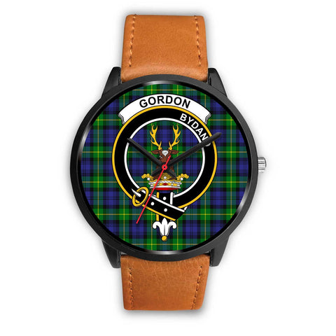 Gordon Modern Clans ,Pink Leather watch, leather steel watch, tartan watch, tartan watches, clan watch, scotland watch, merry christmas, cyber Monday, halloween, black Friday