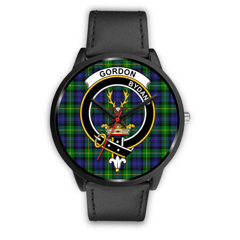 Gordon Modern Clans ,Black Metal Mesh watch, leather steel watch, tartan watch, tartan watches, clan watch, scotland watch, merry christmas, cyber Monday, halloween, black Friday
