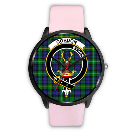 Gordon Modern Clans ,Silver Metal Link watch, leather steel watch, tartan watch, tartan watches, clan watch, scotland watch, merry christmas, cyber Monday, halloween, black Friday