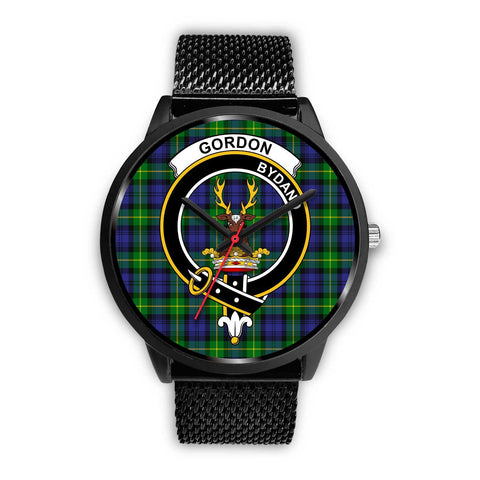 Gordon Modern Clans ,Rose Gold Metal Mesh watch, leather steel watch, tartan watch, tartan watches, clan watch, scotland watch, merry christmas, cyber Monday, halloween, black Friday