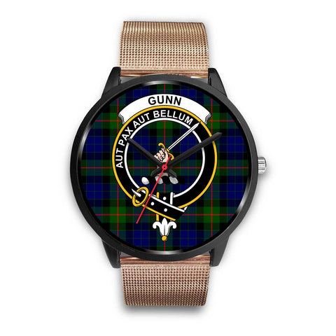 Gunn Modern Clans ,Brown Leather watch, leather steel watch, tartan watch, tartan watches, clan watch, scotland watch, merry christmas, cyber Monday, halloween, black Friday