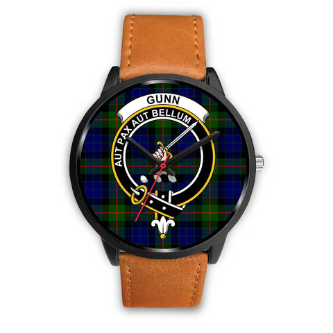 Gunn Modern Clans ,Pink Leather watch, leather steel watch, tartan watch, tartan watches, clan watch, scotland watch, merry christmas, cyber Monday, halloween, black Friday