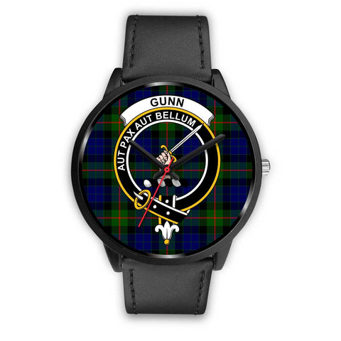 Gunn Modern Clans ,Black Metal Mesh watch, leather steel watch, tartan watch, tartan watches, clan watch, scotland watch, merry christmas, cyber Monday, halloween, black Friday