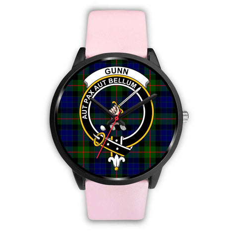 Gunn Modern Clans ,Silver Metal Link watch, leather steel watch, tartan watch, tartan watches, clan watch, scotland watch, merry christmas, cyber Monday, halloween, black Friday