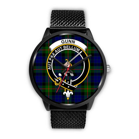 Gunn Modern Clans ,Rose Gold Metal Mesh watch, leather steel watch, tartan watch, tartan watches, clan watch, scotland watch, merry christmas, cyber Monday, halloween, black Friday