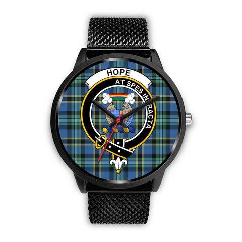 Image of Hope Clans ,Rose Gold Metal Mesh watch, leather steel watch, tartan watch, tartan watches, clan watch, scotland watch, merry christmas, cyber Monday, halloween, black Friday