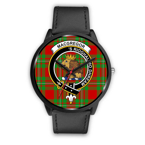 MacGregor Modern Clans ,Black Metal Mesh watch, leather steel watch, tartan watch, tartan watches, clan watch, scotland watch, merry christmas, cyber Monday, halloween, black Friday