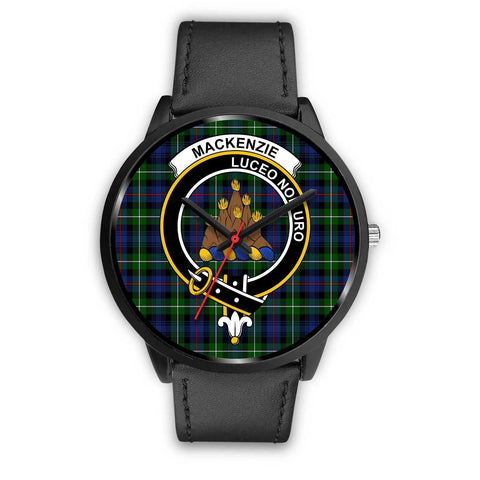 MacKenzie Modern Clans ,Black Metal Mesh watch, leather steel watch, tartan watch, tartan watches, clan watch, scotland watch, merry christmas, cyber Monday, halloween, black Friday