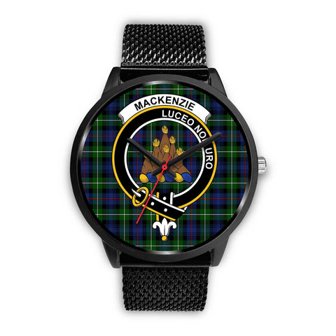 MacKenzie Modern Clans ,Rose Gold Metal Mesh watch, leather steel watch, tartan watch, tartan watches, clan watch, scotland watch, merry christmas, cyber Monday, halloween, black Friday