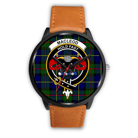 MacLeod Clans ,Pink Leather watch, leather steel watch, tartan watch, tartan watches, clan watch, scotland watch, merry christmas, cyber Monday, halloween, black Friday